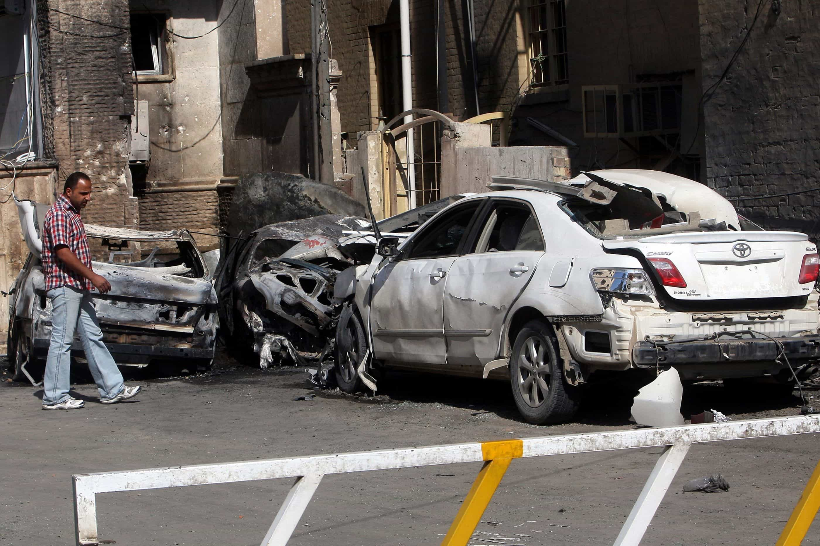 Explosão de bombas em Bagdá deixa quatro mortos e 20 feridos