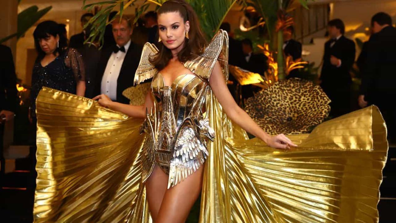 Camila Queiroz sobre ser rainha do Baile do Copa: 'Nunca vou esquecer'