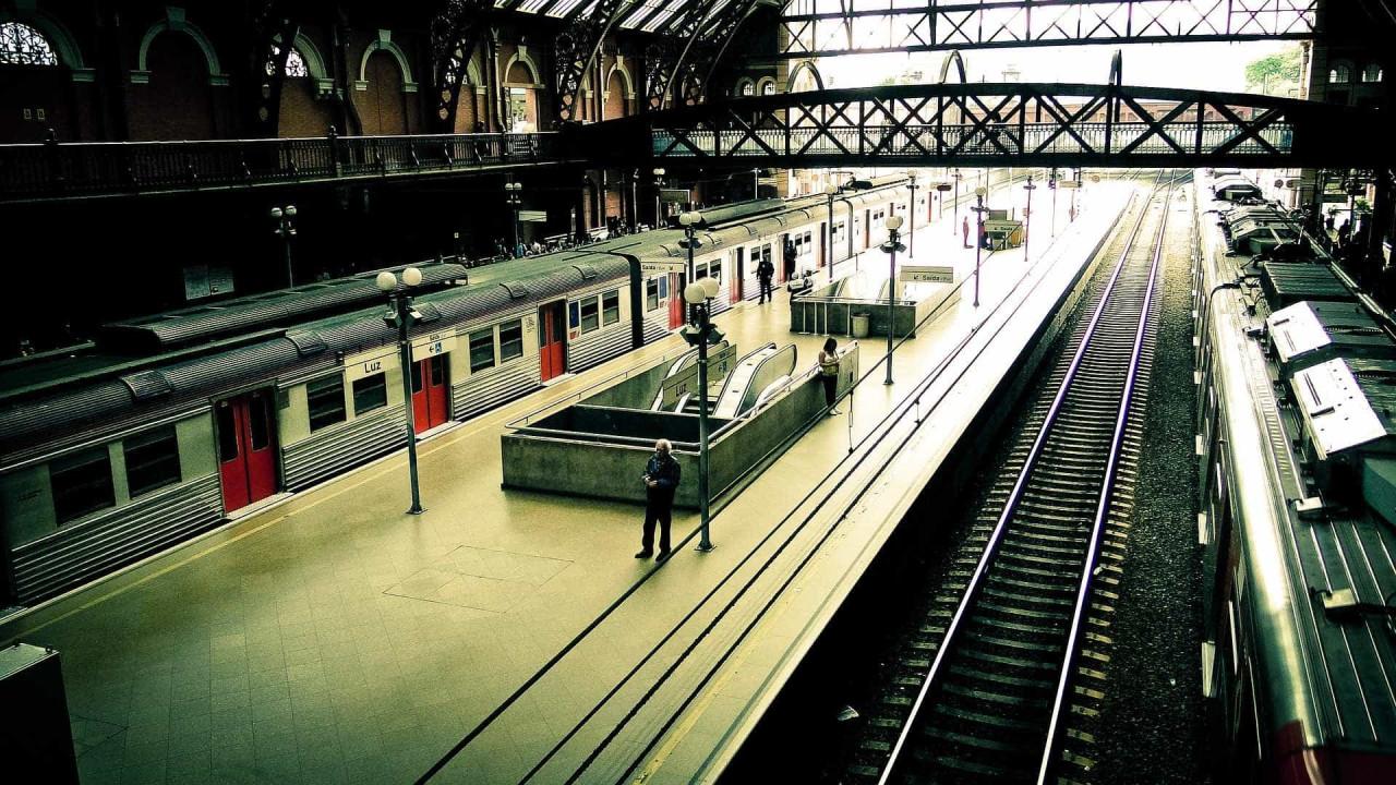 Metrô testa câmera para medir a temperatura dos passageiros em SP