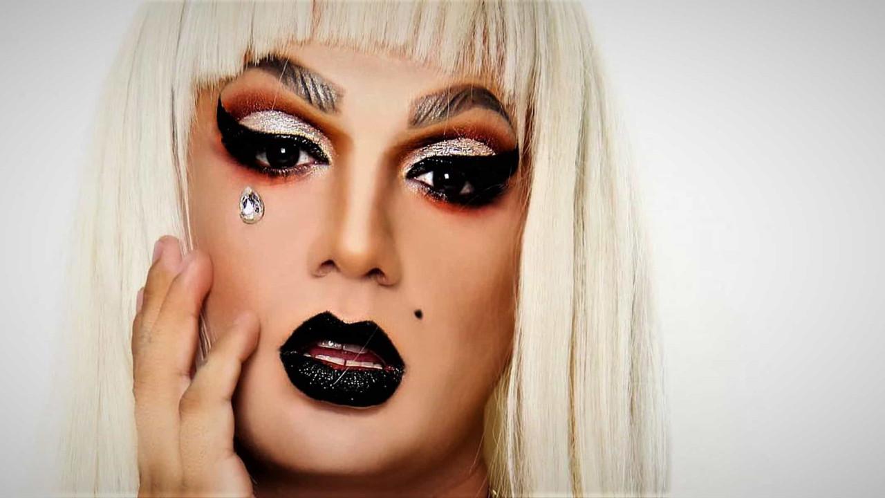 Ator da Globo encarna drag queen em evento contra a LGBTfobia
