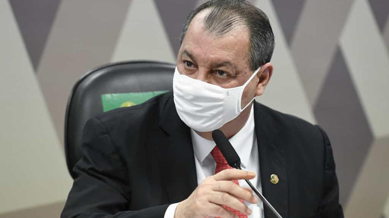 Omar Aziz diz que pedido de quebra de sigilo contra Jovem Pan não será votado