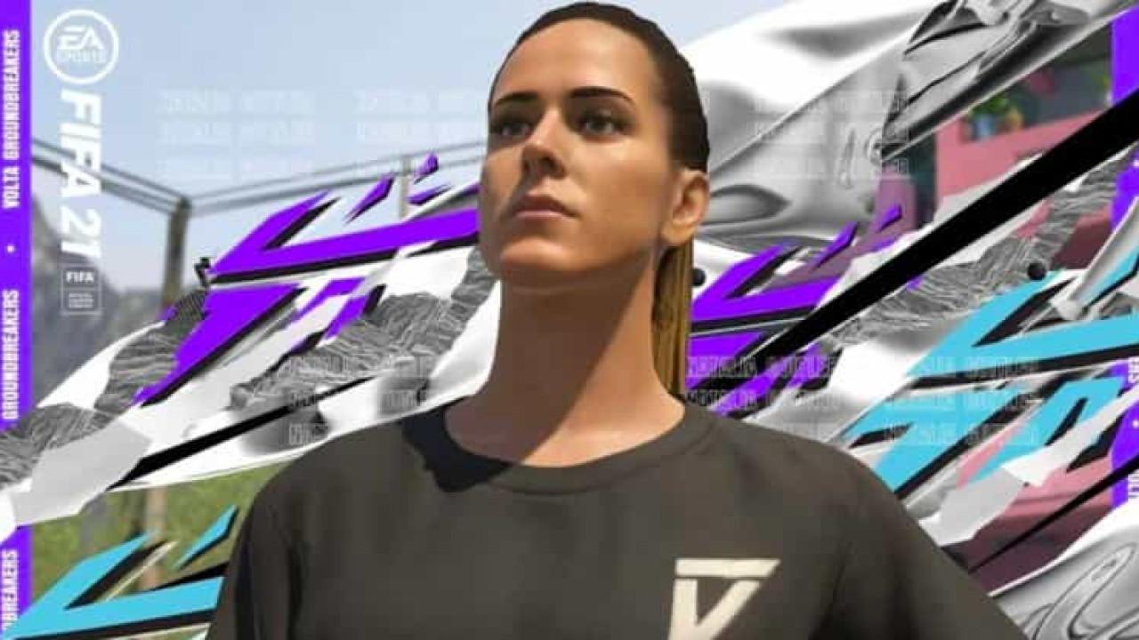 'Fifa 21' ganha personagem inspirada na craque do futevôlei