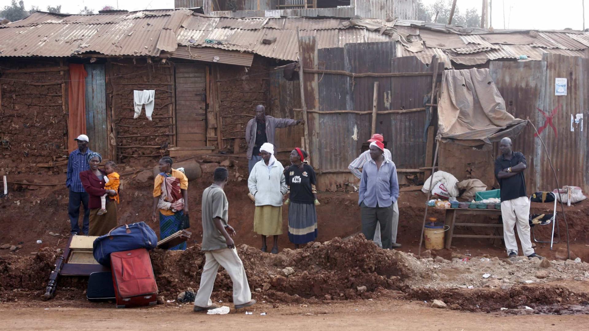 Risco de perder um filho na África é cem vezes mais