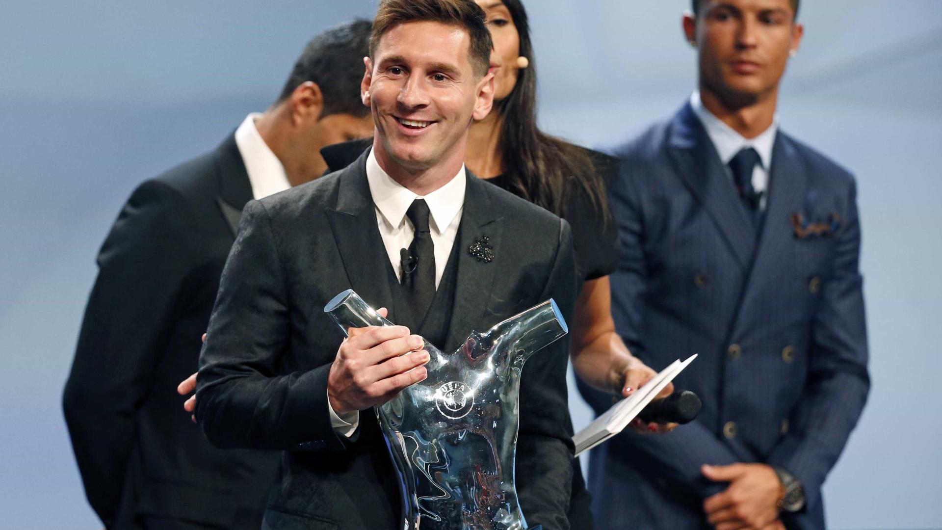 Tudo parece extremamente fácil aos pés de Messi