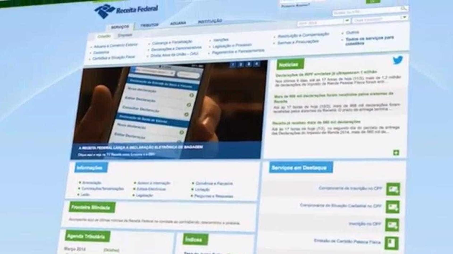 Metade dos contribuintes ainda não enviou declaração de renda ao Fisco