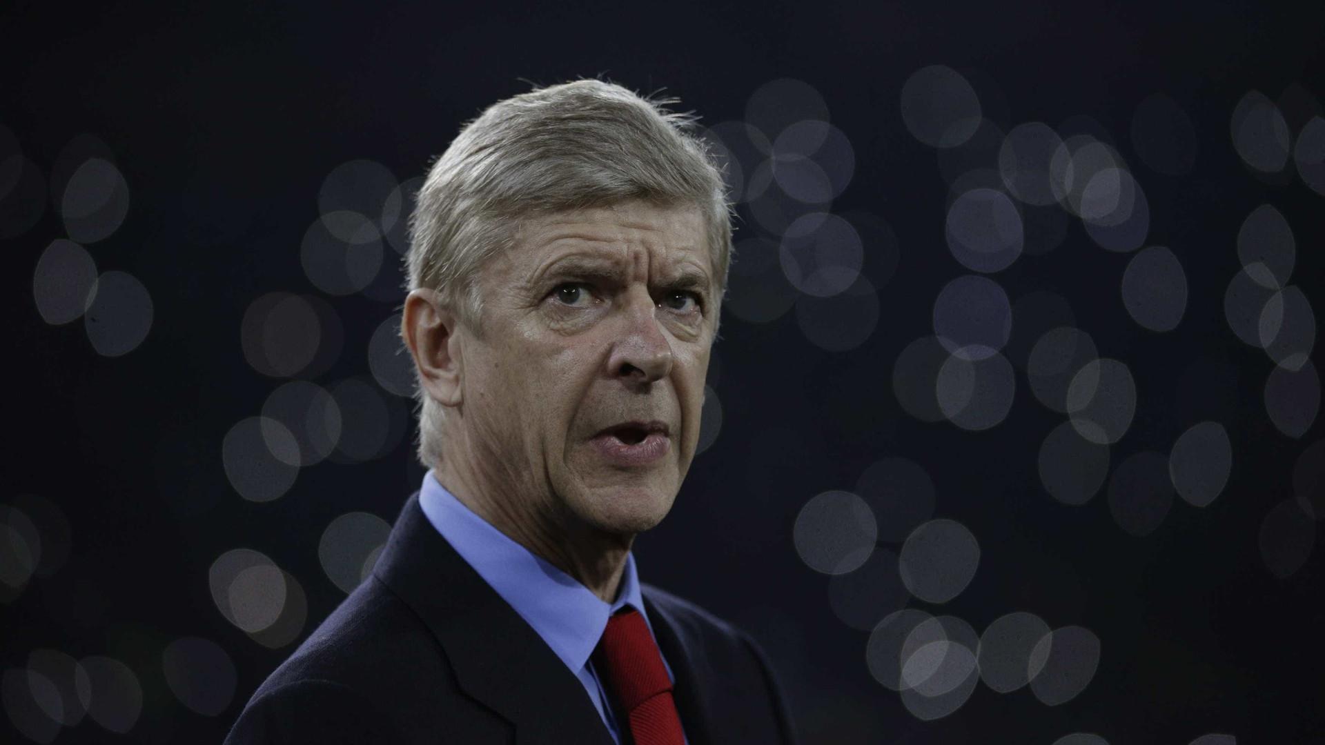 """Arsene Wenger sobre C. Ronaldo: """"É o meu maior desgosto"""""""