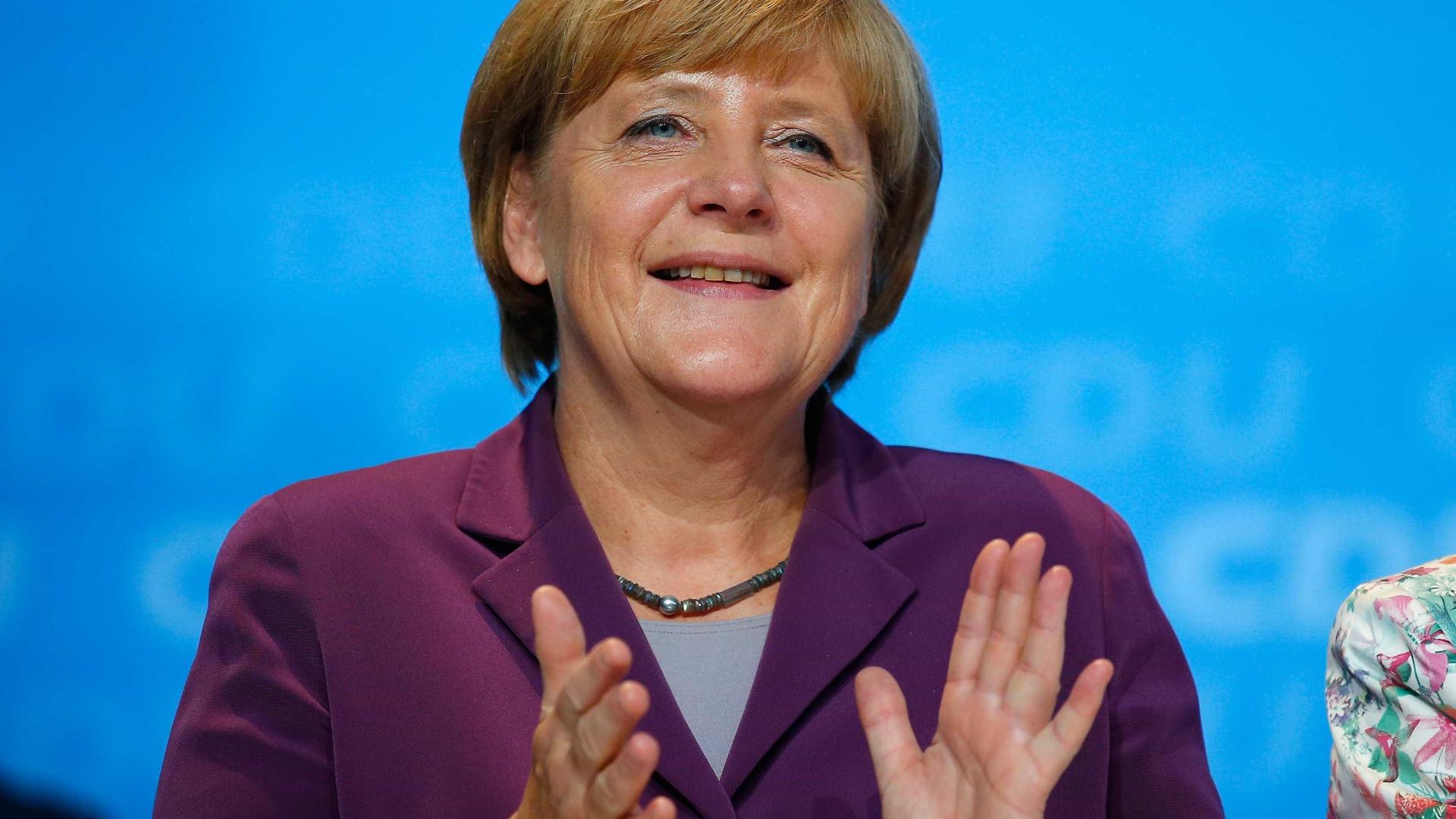 Visita de Merkel mostra interesse em agenda de longo prazo