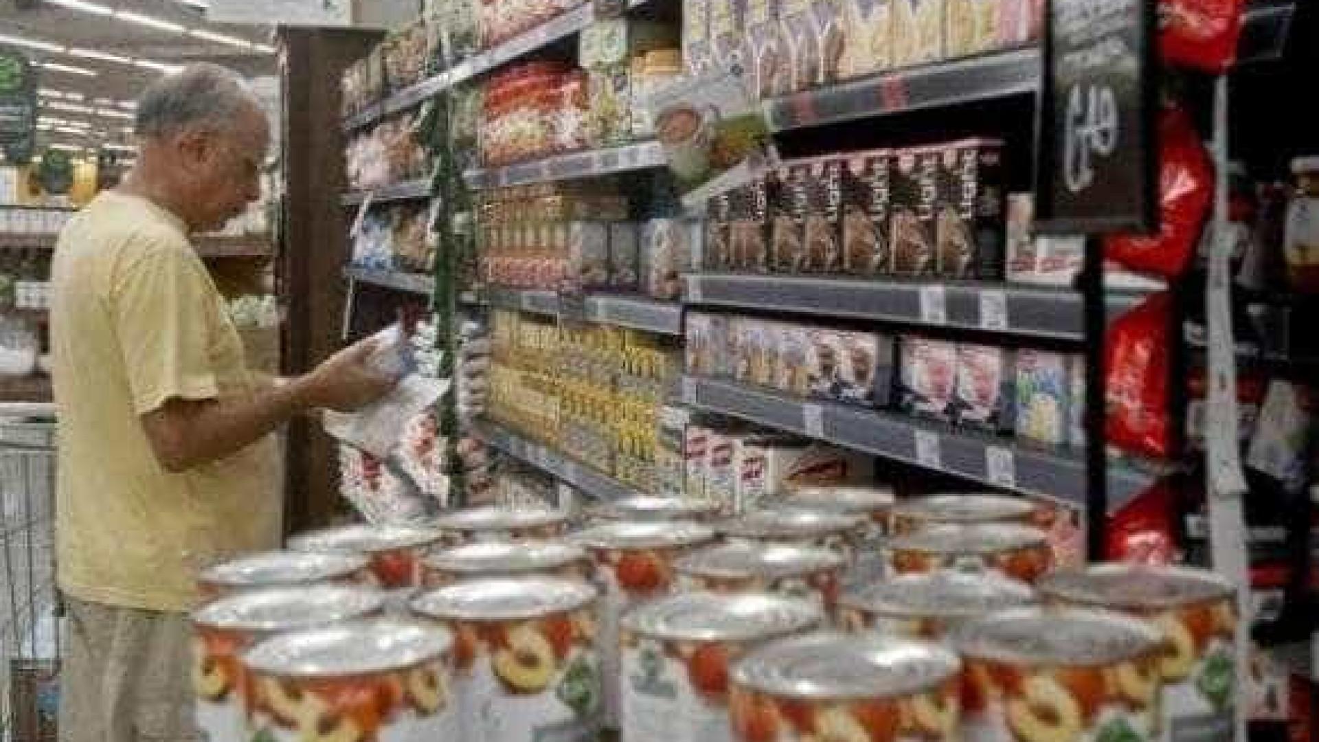 Alimentos mantêm pressão sobre inflação em São Paulo