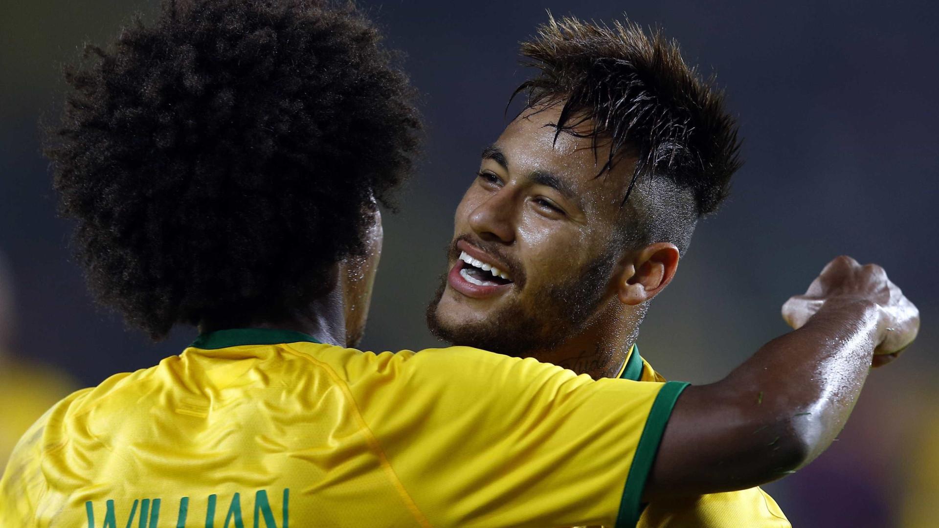 Neymar, Coutinho e Willian disputam Bola de Ouro da Fifa, dizem jornais