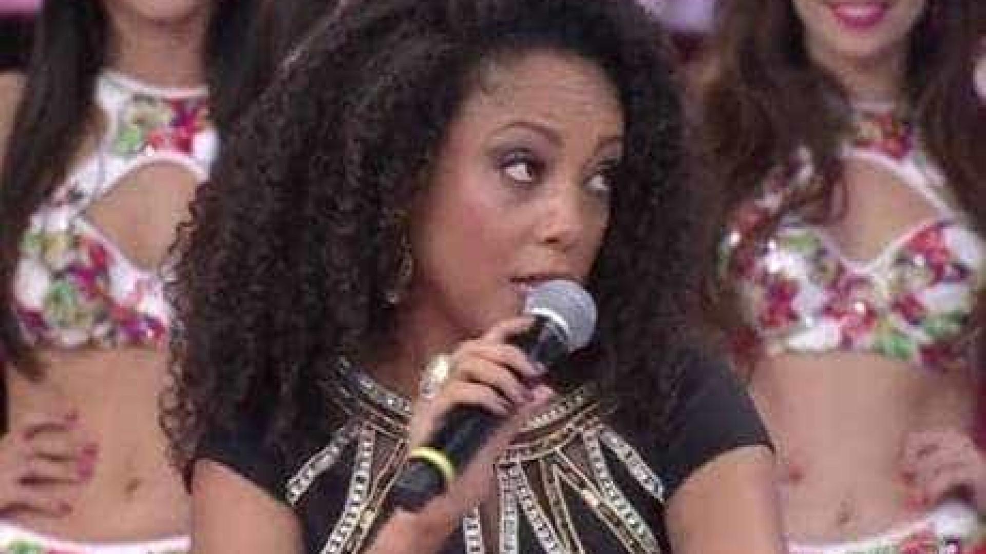Eliminada, Negra Li critica votação da Dança dos Famosos