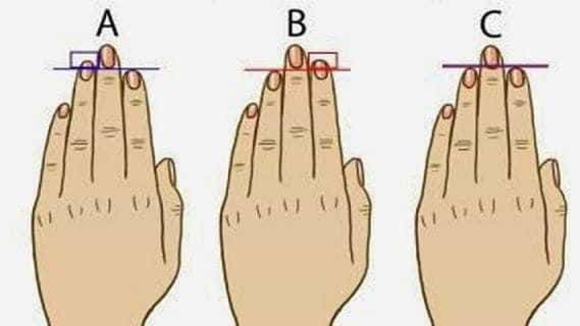 Descubra a personalidade pelo formato dos dedos das mãos