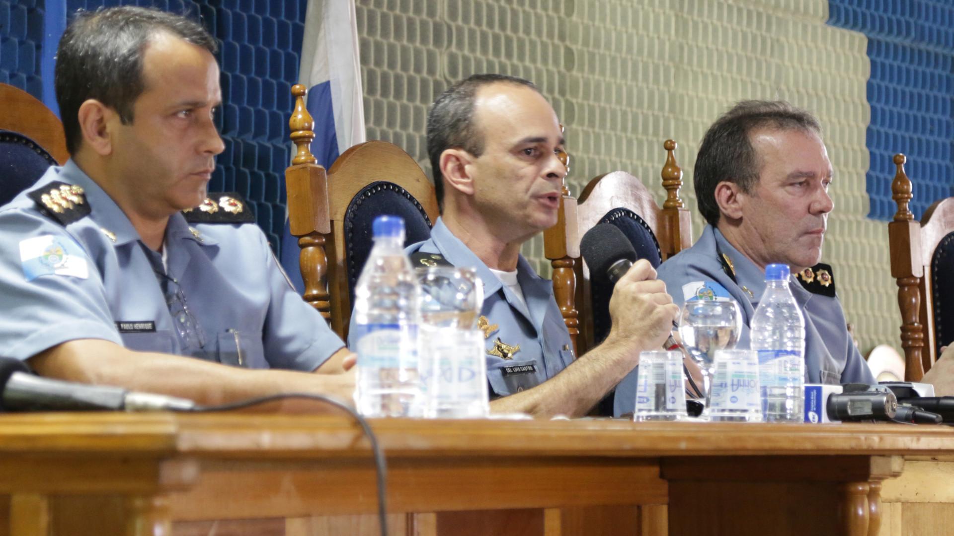 Coronel diz que oficial negociou propina com ex-comandante da PM do Rio