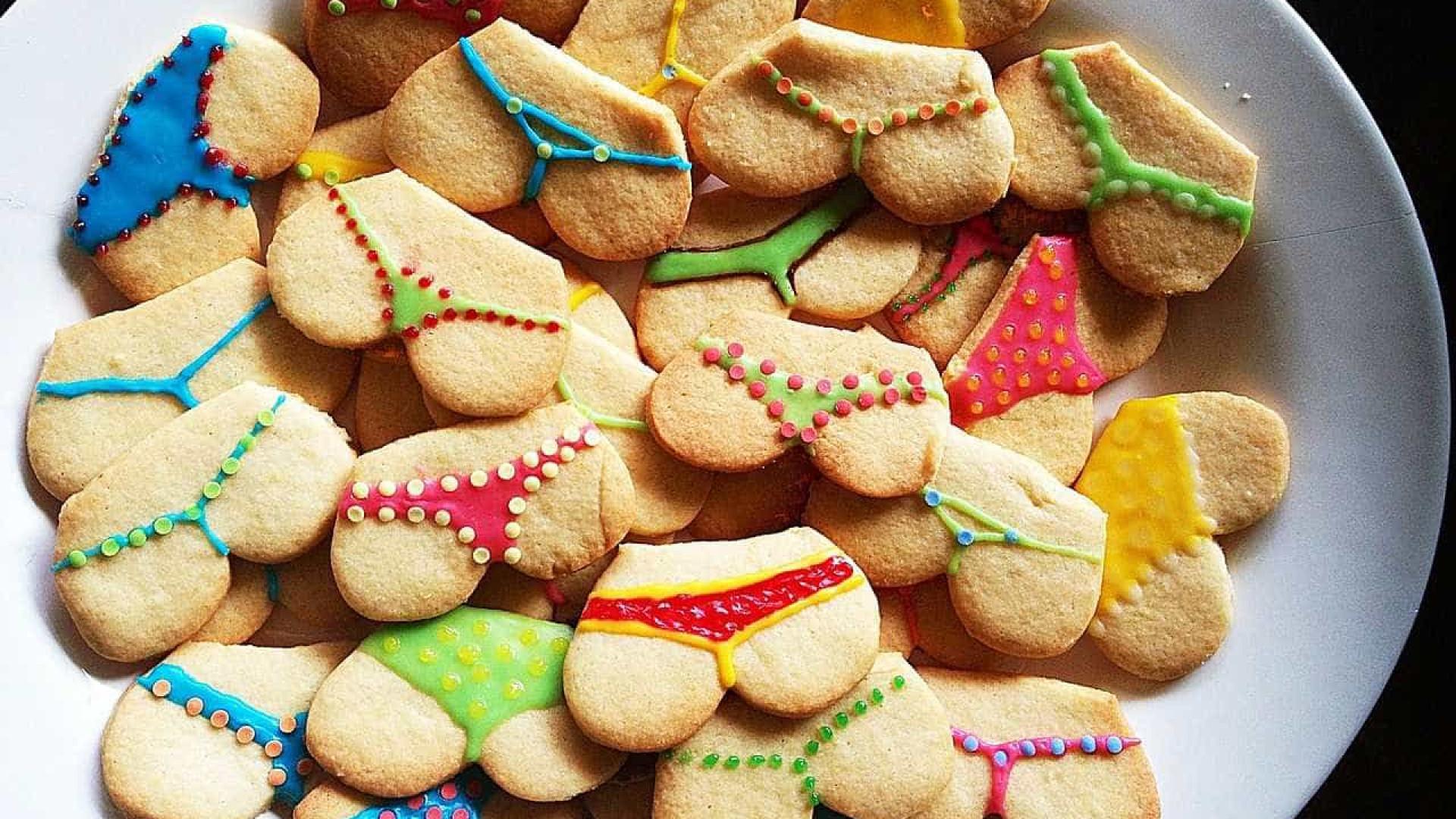вас печенье с прикольными картинками только, что кино