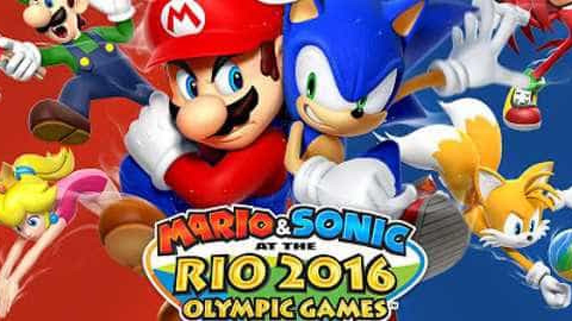 Mario & Sonic at the Rio 2016 será lançado oficialmente no Brasil