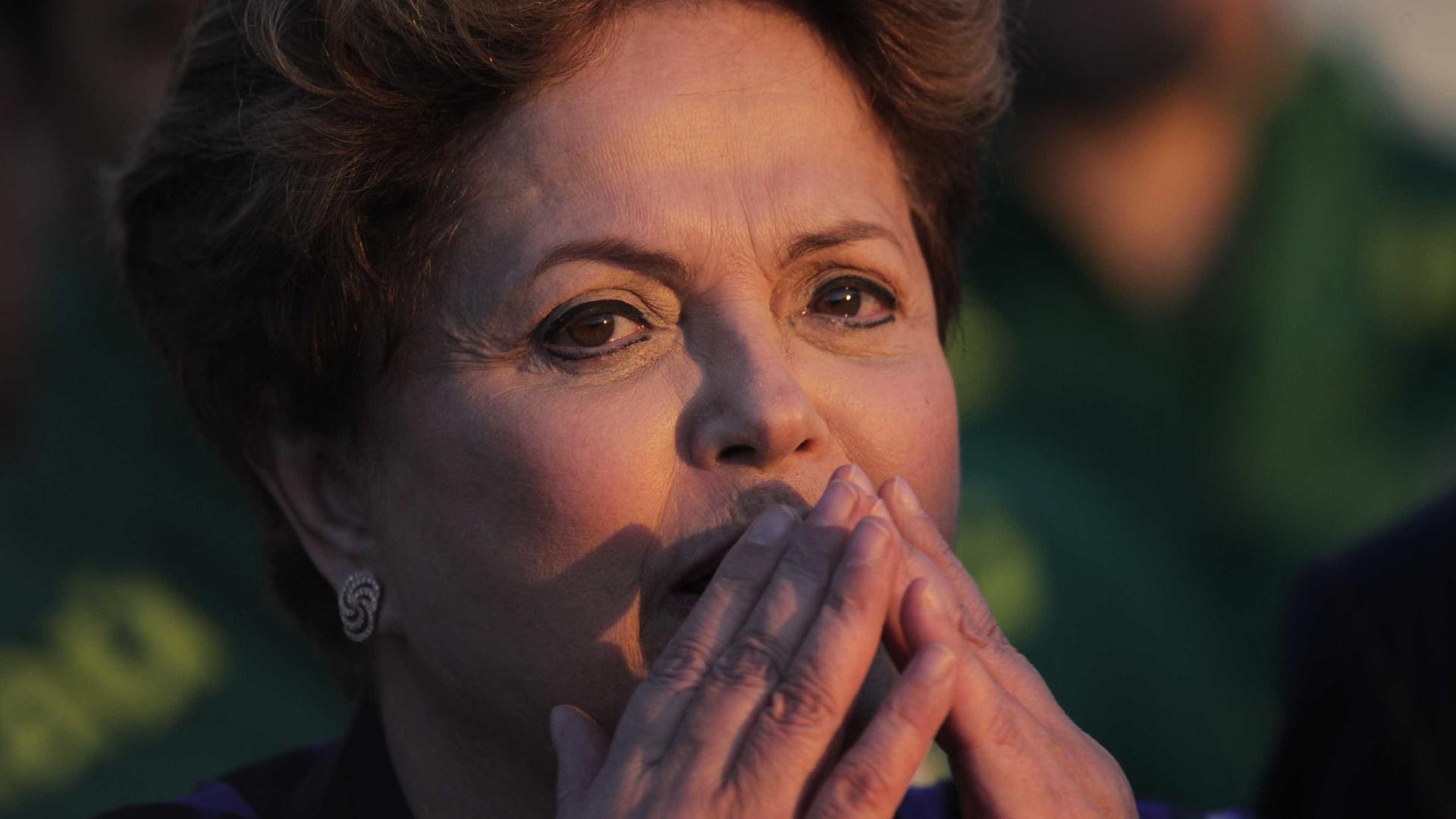 """""""Dentro de 90 dias talvez  eu não esteja mais aqui"""", diz Dilma"""