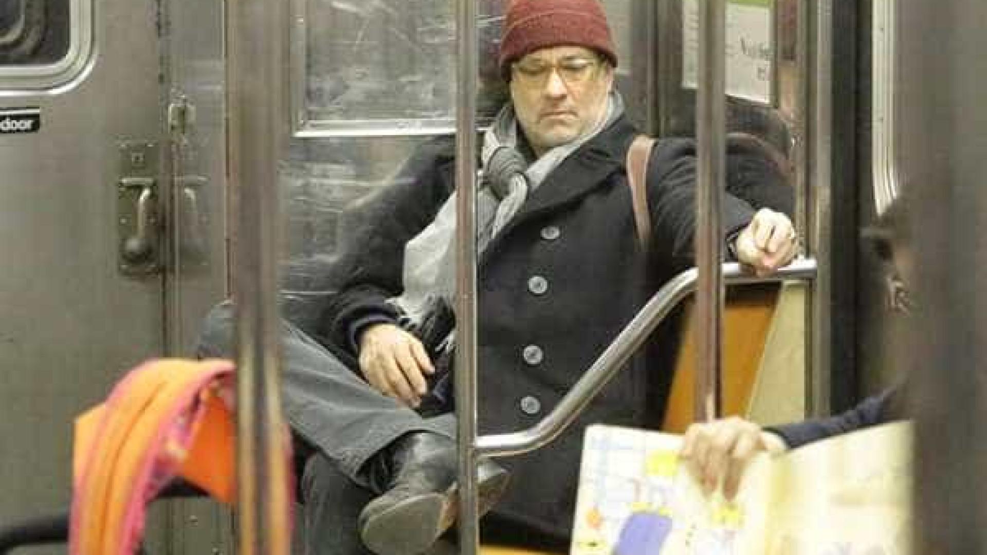 Conheça os famosos que andam de metrô em NY
