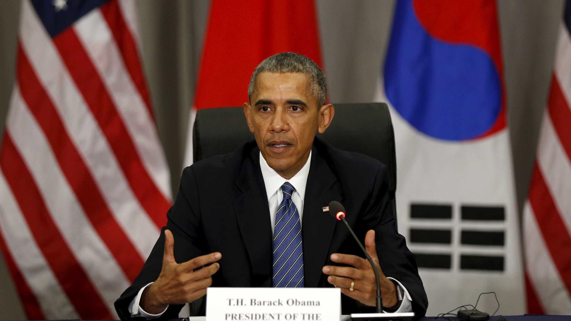 """EUA têm """"obrigação moral"""" de liderar desarmamento, diz Obama"""