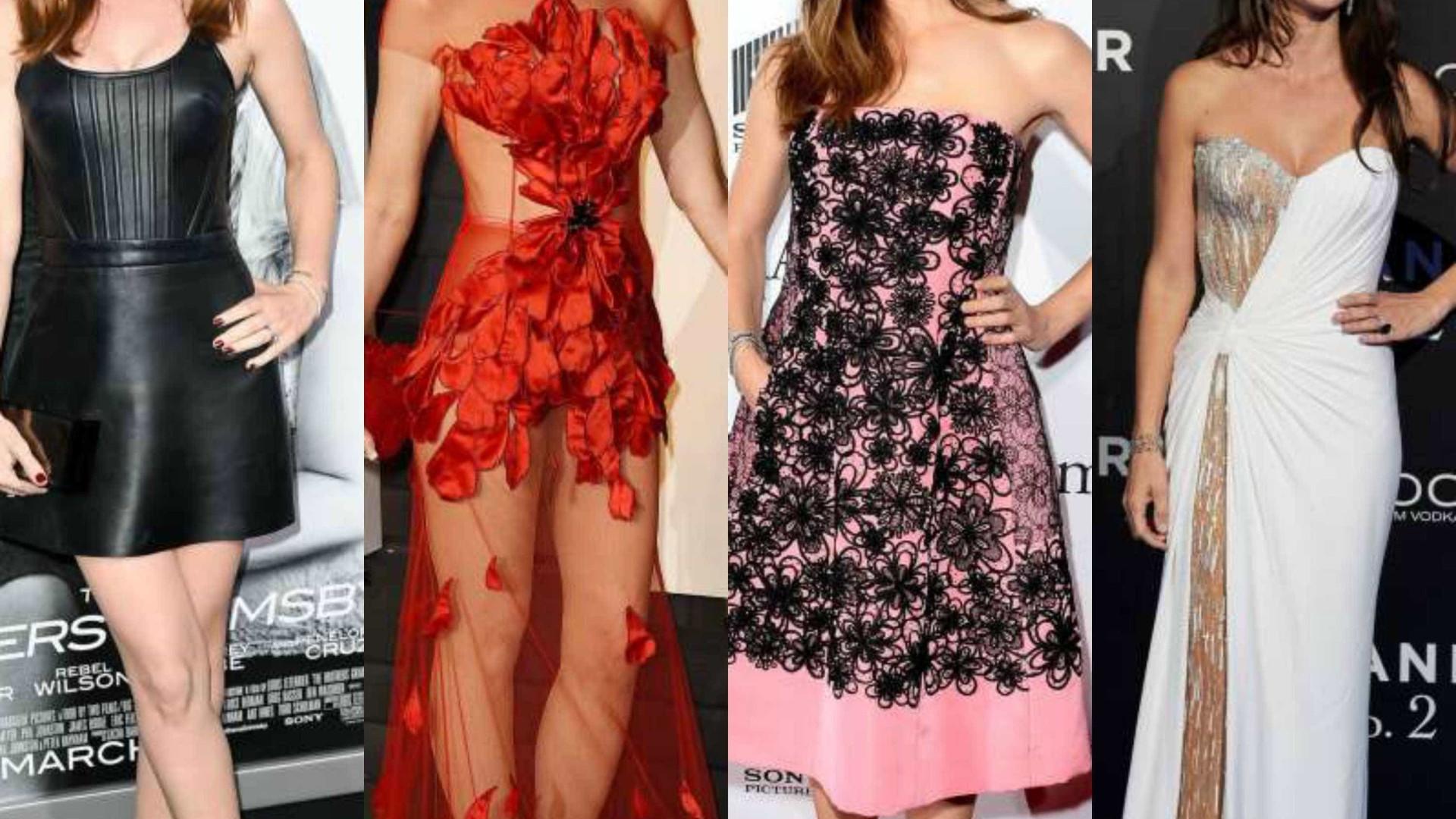 Moda: os mais elegantes vestidos das famosas