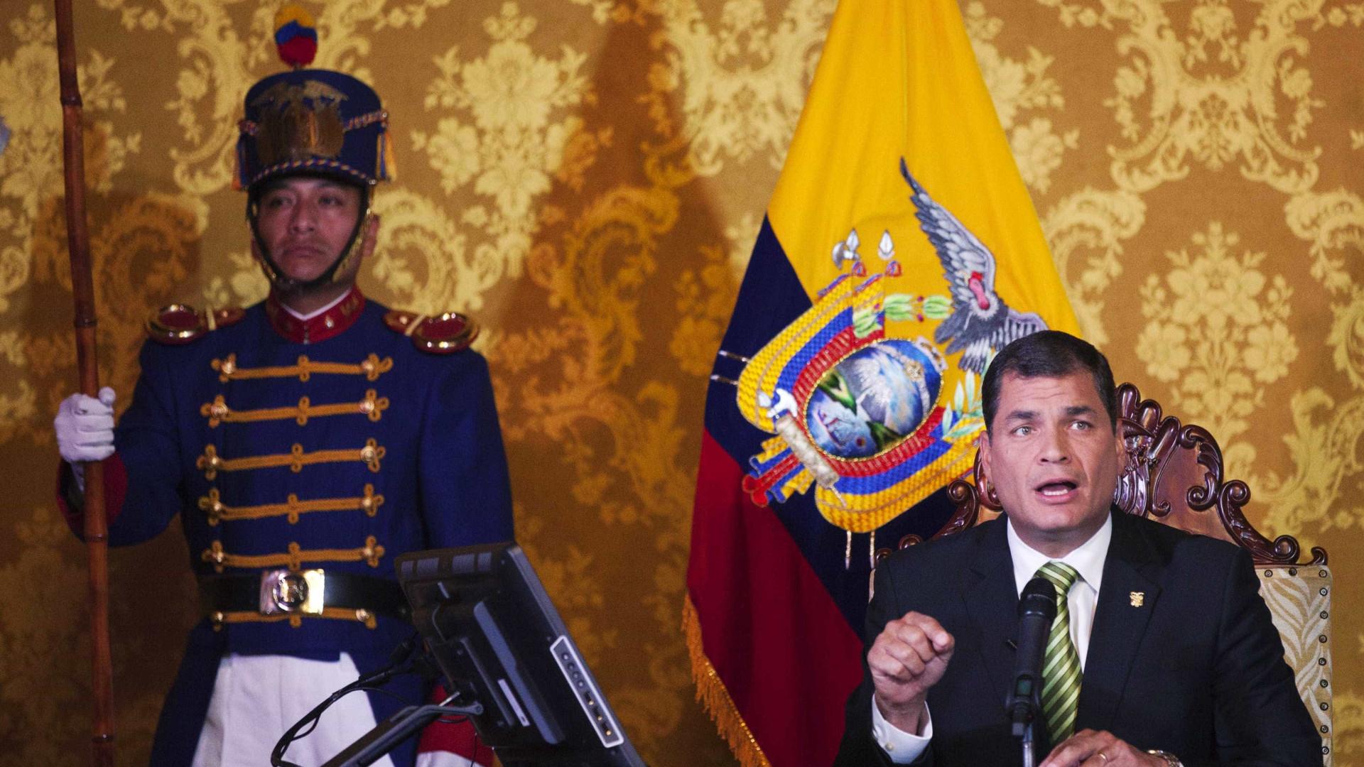 Após terremoto, Correa vai taxar os milionários para financiar reconstrução