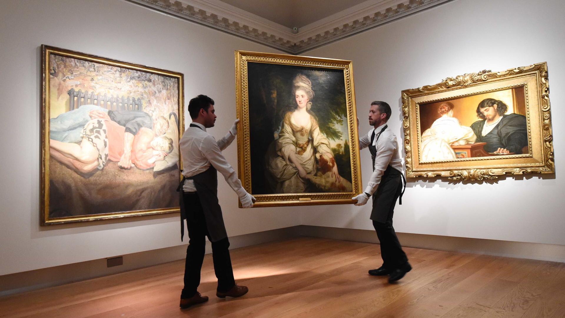 Christie's comemora 250 anos com grande  venda de arte britânica