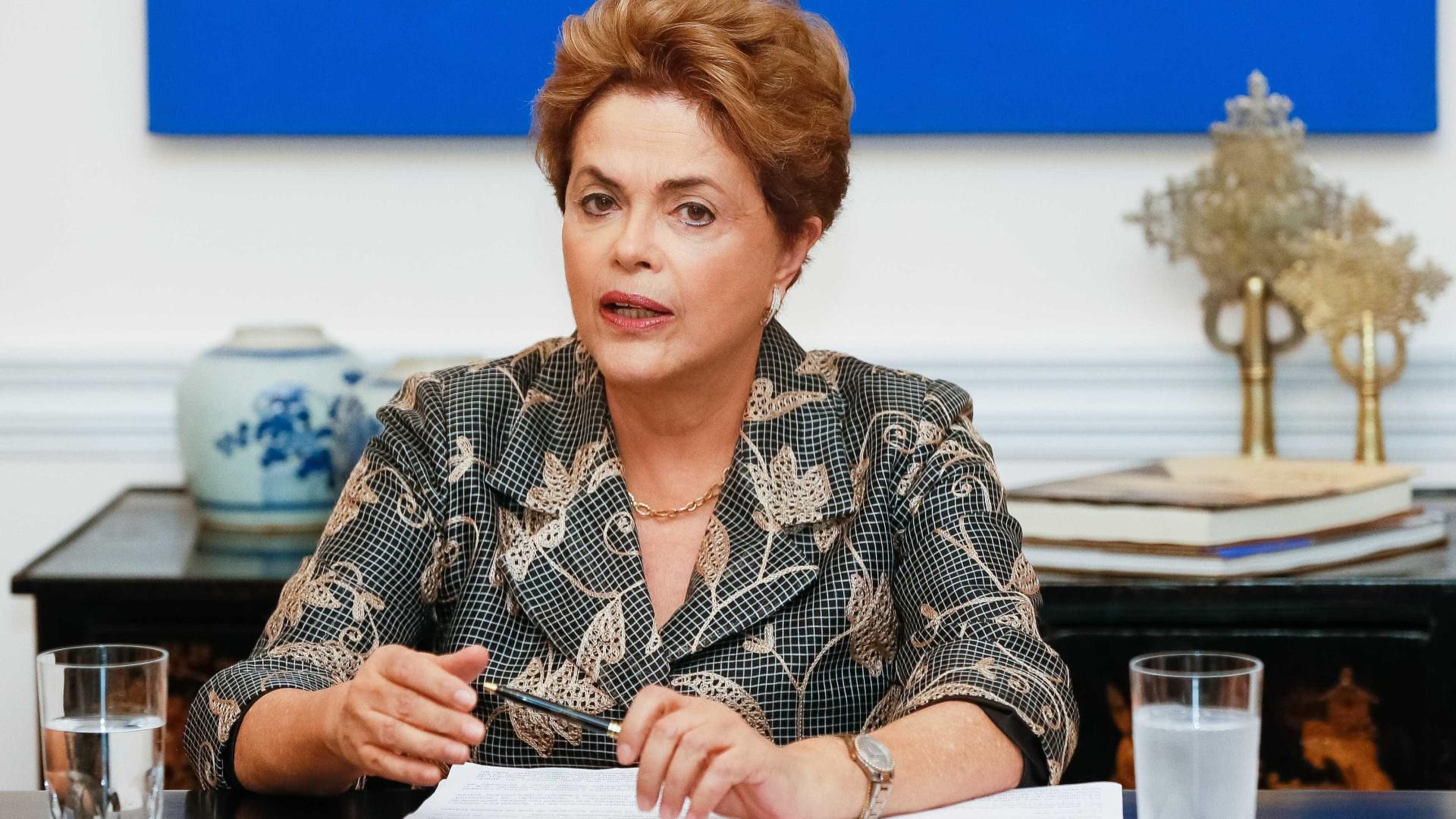 Dilma Rousseff já está no Palácio do Planalto