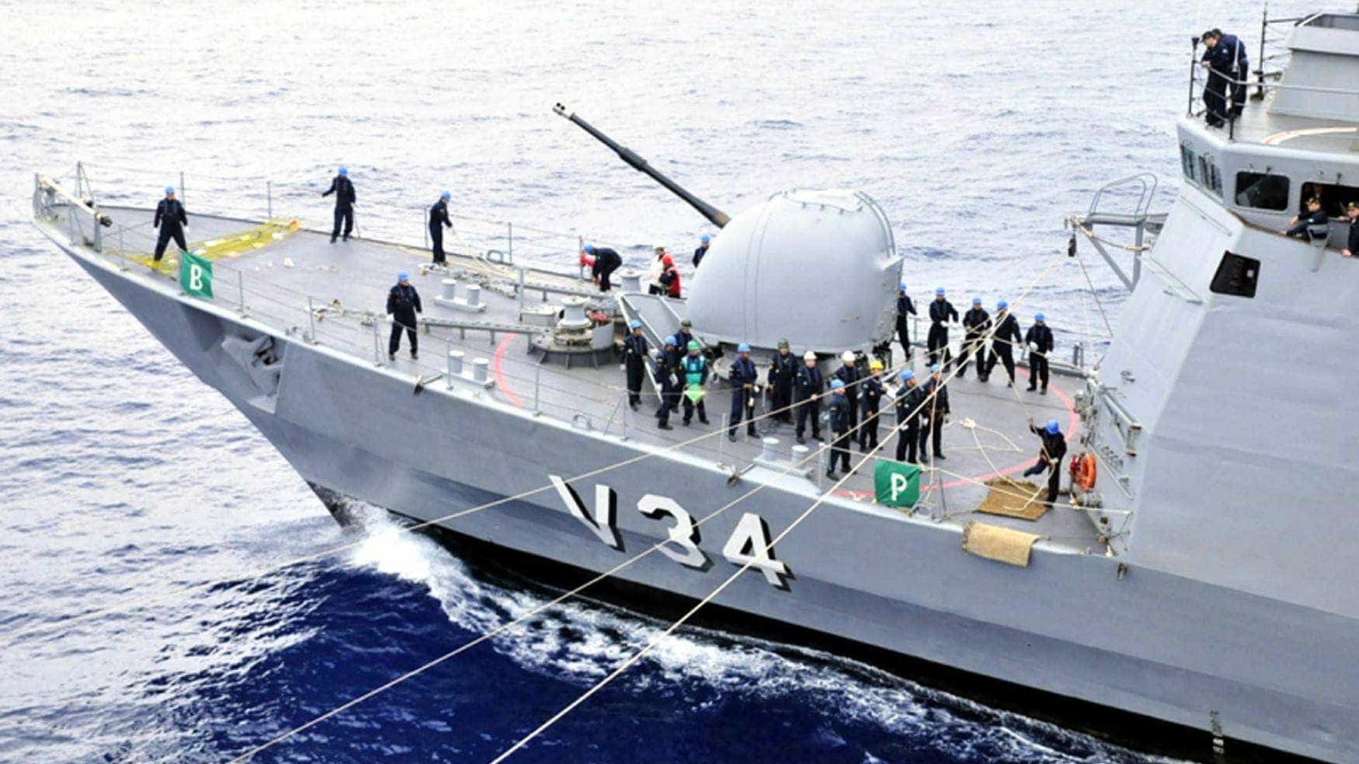 Falta de recursos deixa 46% da frota da Marinha parada