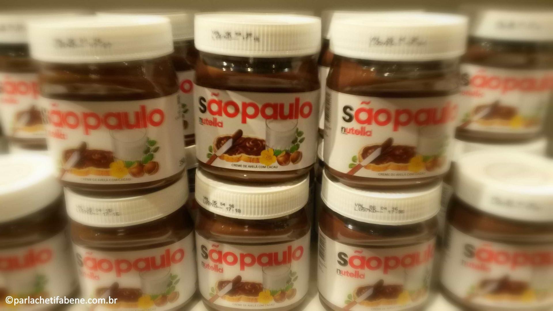 São Paulo terá Dia da Nutella de Graça amanhã (19)