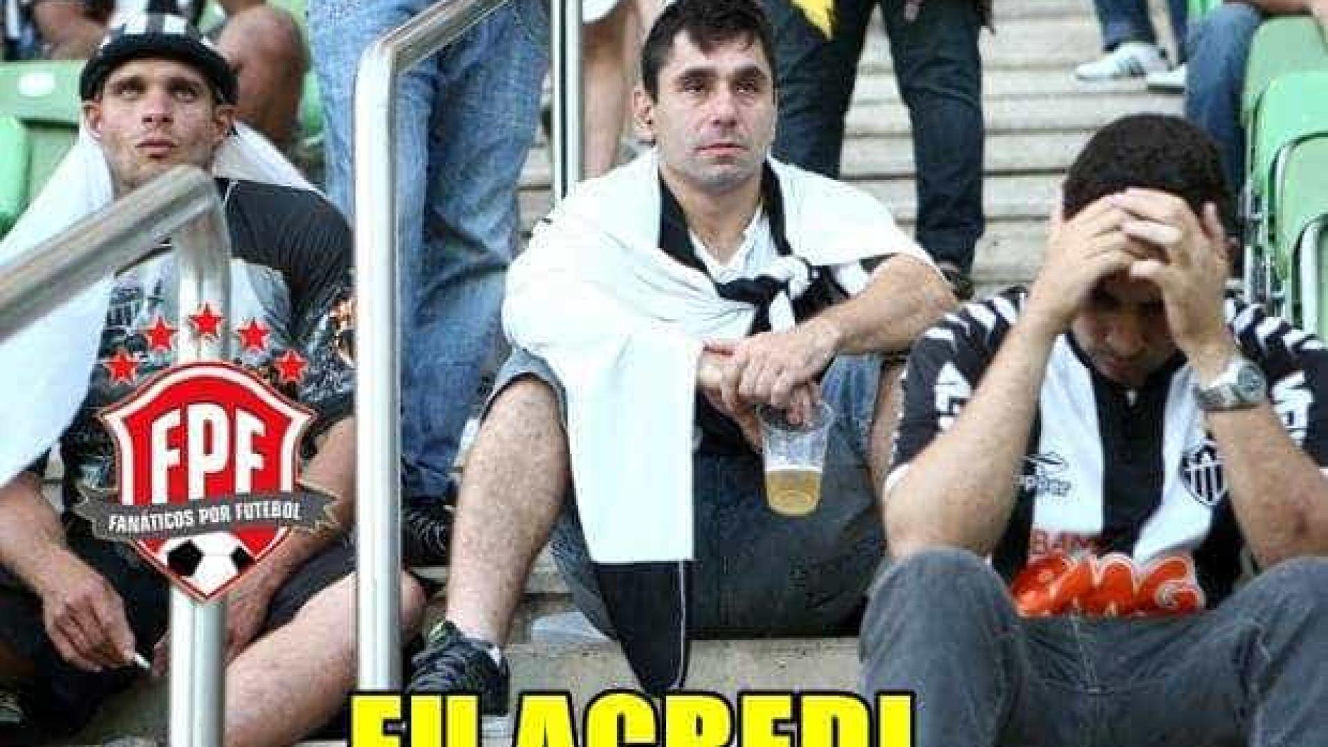 Internautas não perdoam eliminação do Galo; veja os memes