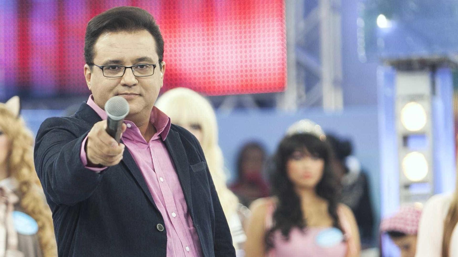 Após reclamação ao vivo, Record resolve suspender Geraldo Luis