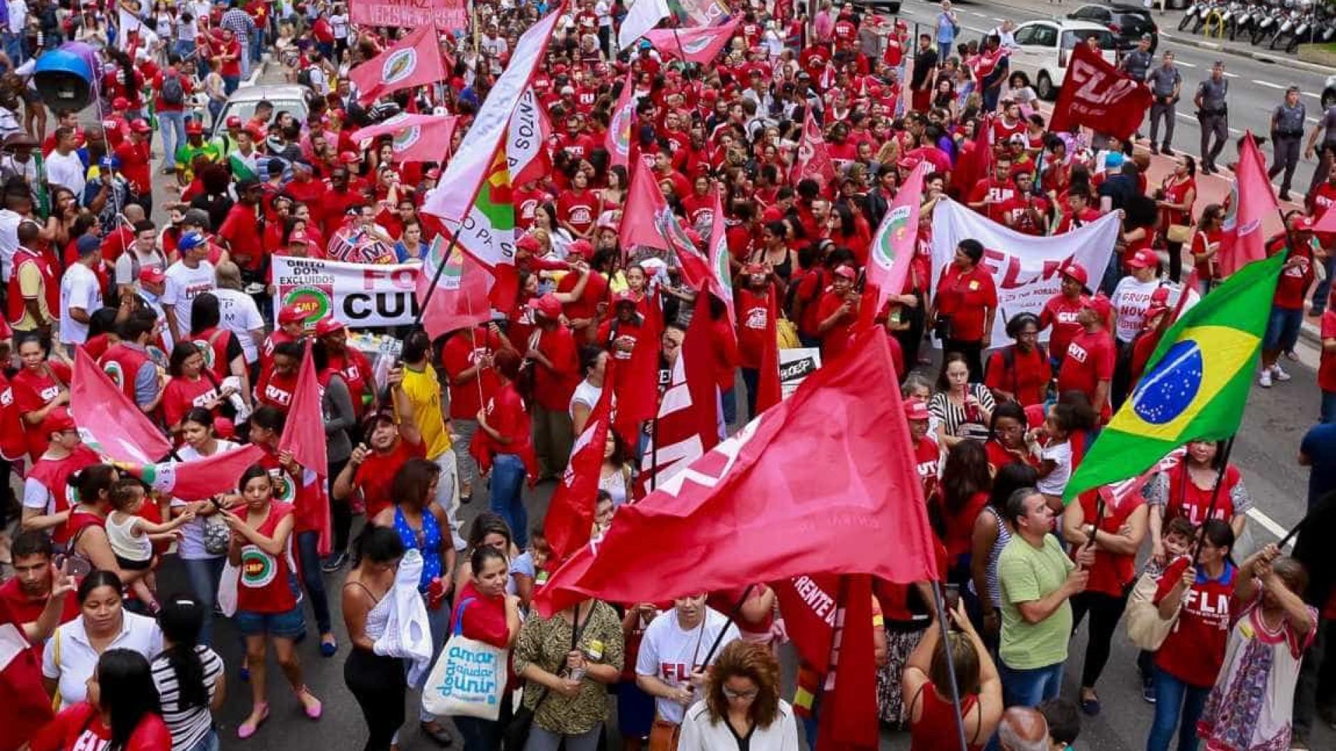 Grupo contra o impeachment ameaça parar  país nesta sexta