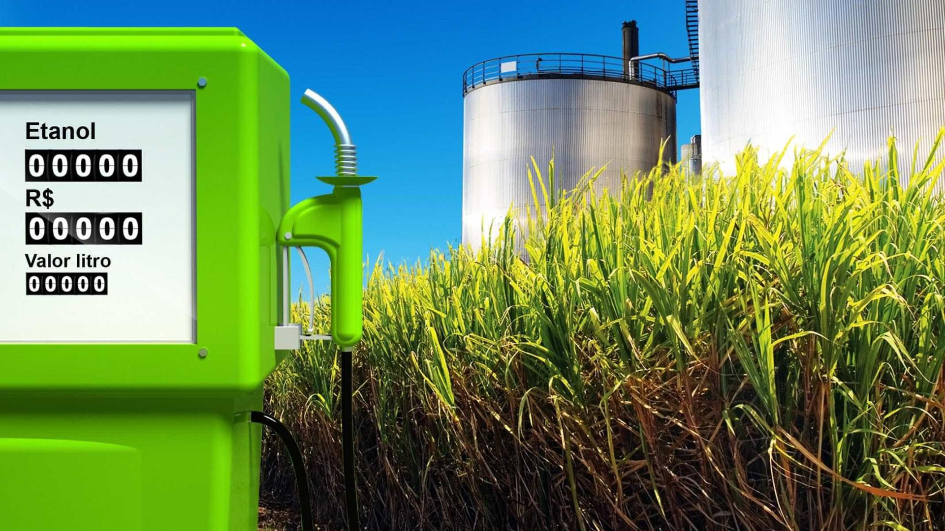 Preço do etanol cai em 14 Estados e no DF