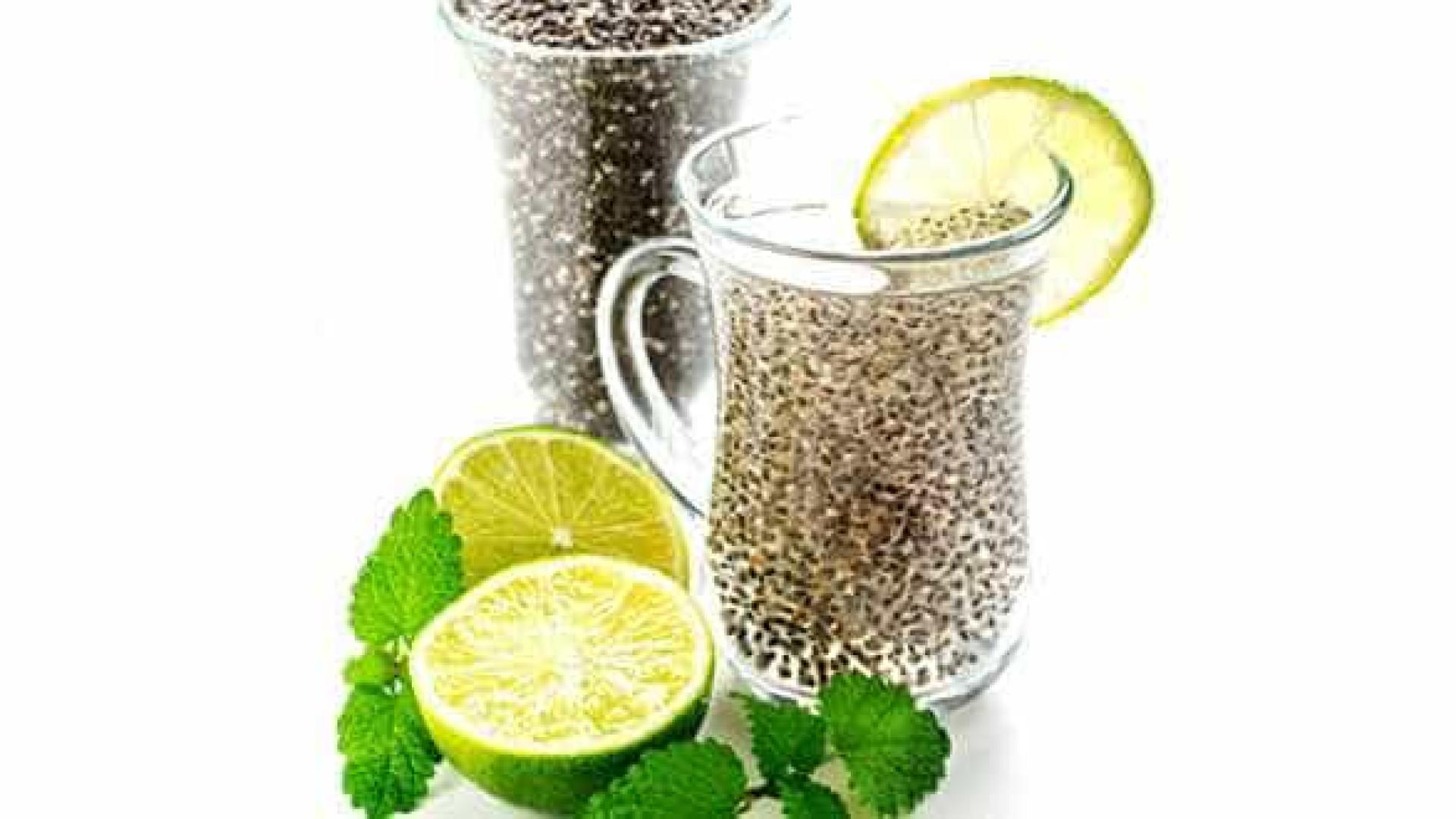 Conheça o suco de chia, poderoso  emagrecedor e desinchante