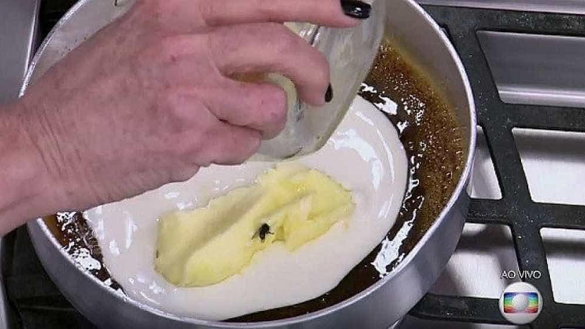 Ana Maria Braga prepara prato com mosca e causa polêmica na web
