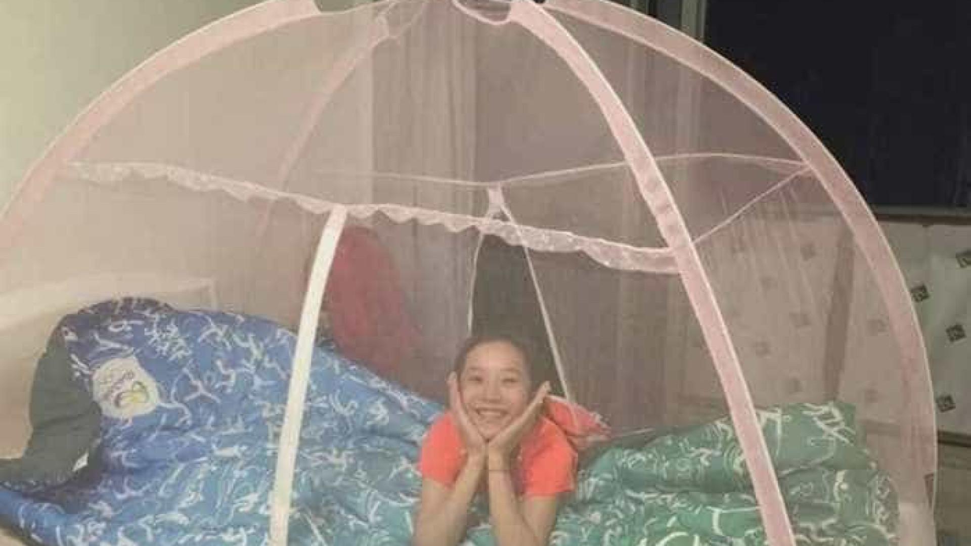 Medo do zika faz ginastas chinesas dormirem cobertas por telas