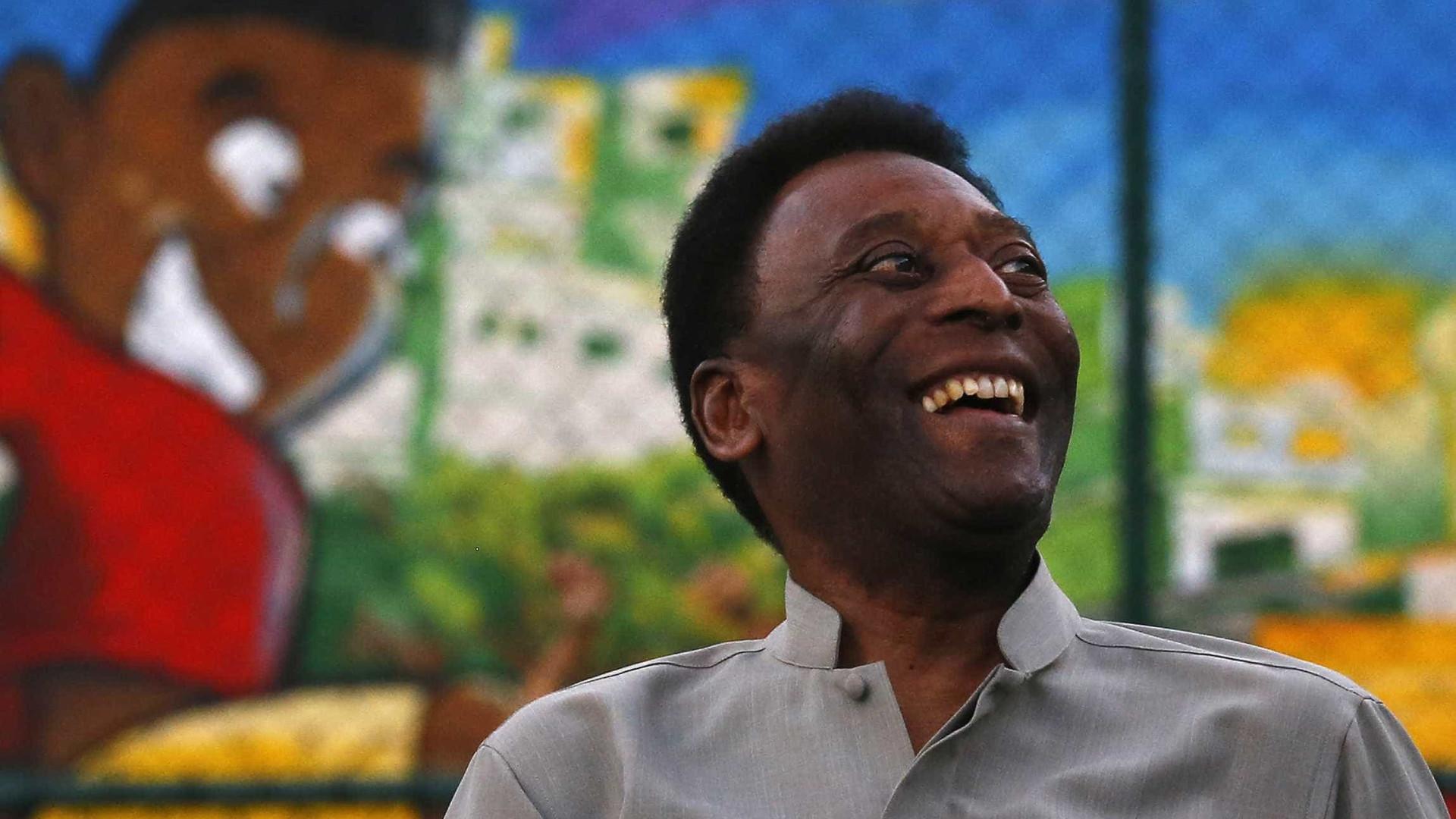 Pelé não vai à cerimônia de abertura dos Jogos