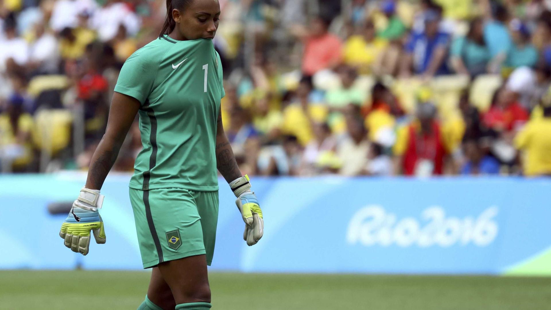 Futebol feminino é eliminado  pela Suécia e disputa o bronze