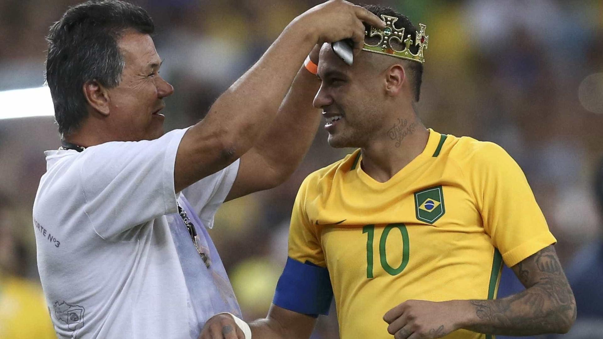 Neymar consegue título que  craques deixaram escapar
