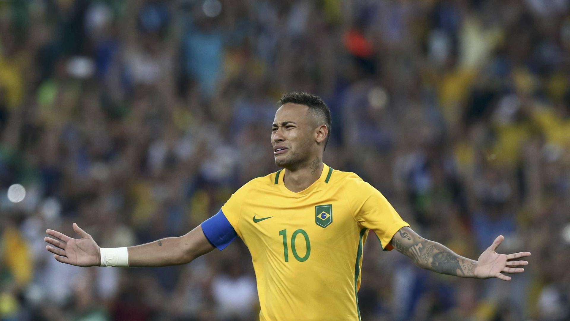 Neymar tem história breve, mas gloriosa no Maracanã