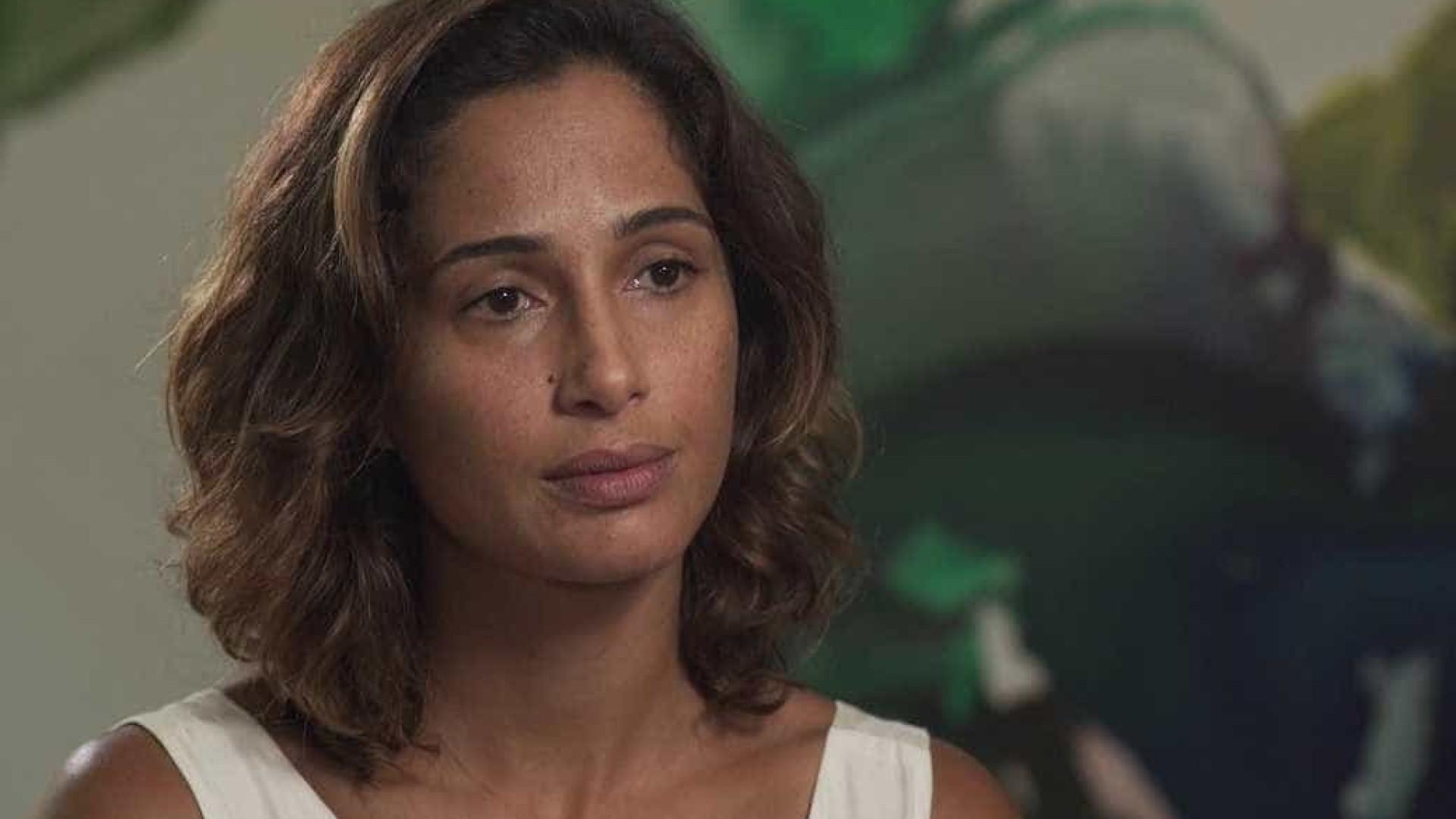 Camila Pitanga afirma: 'Ele me deu  a oportunidade de estar aqui'