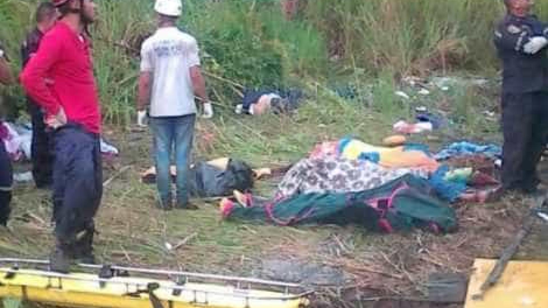 Acidente de ônibus na Venezuela mata ao menos 11 pessoas
