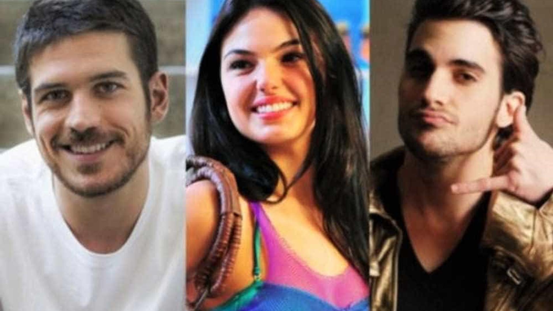 Fiuk formará triângulo amoroso com Isis Valverde e Marco Pigossi