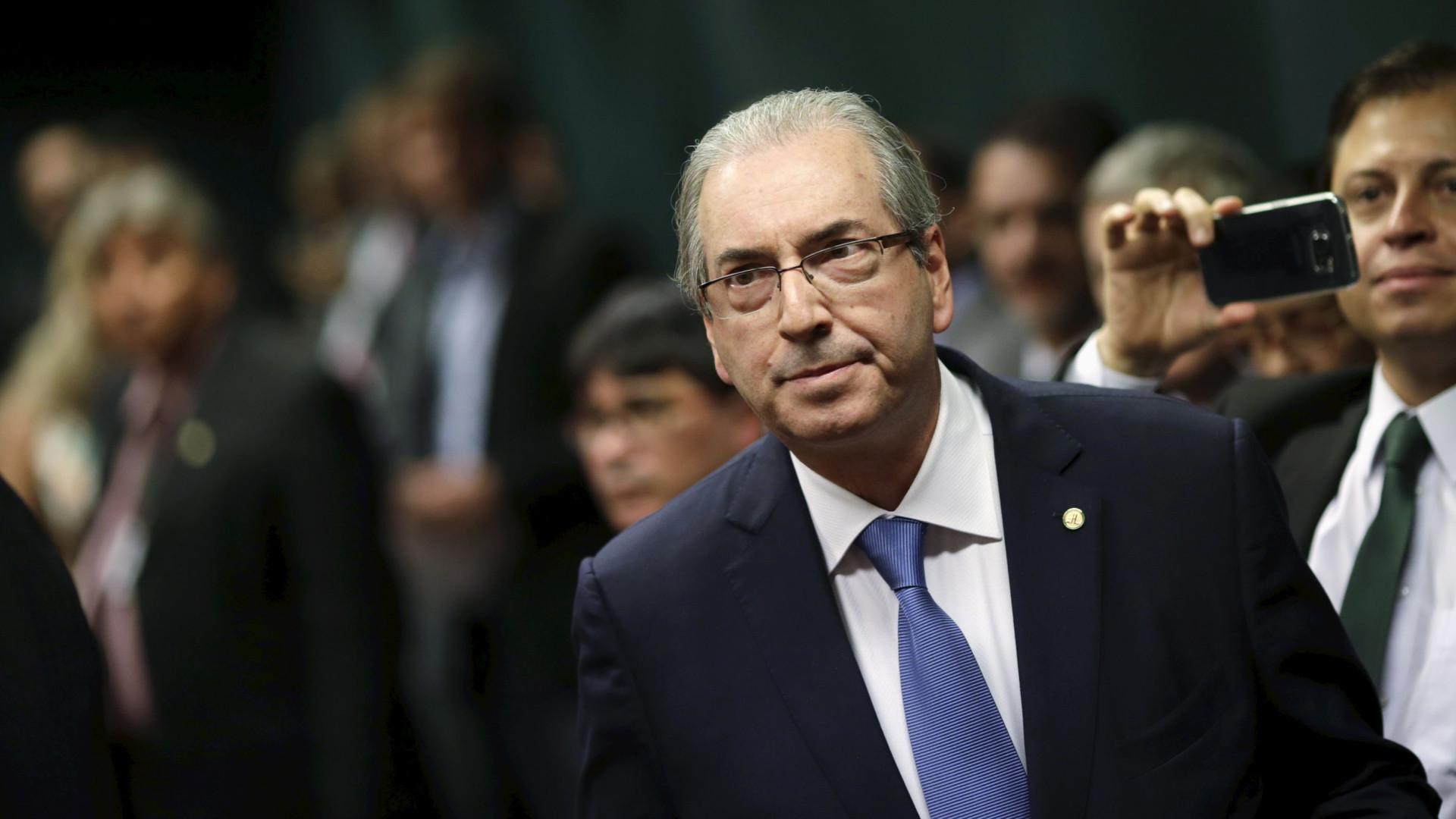 Cunha é usado como exemplo negativo  por ONG contra a corrupção
