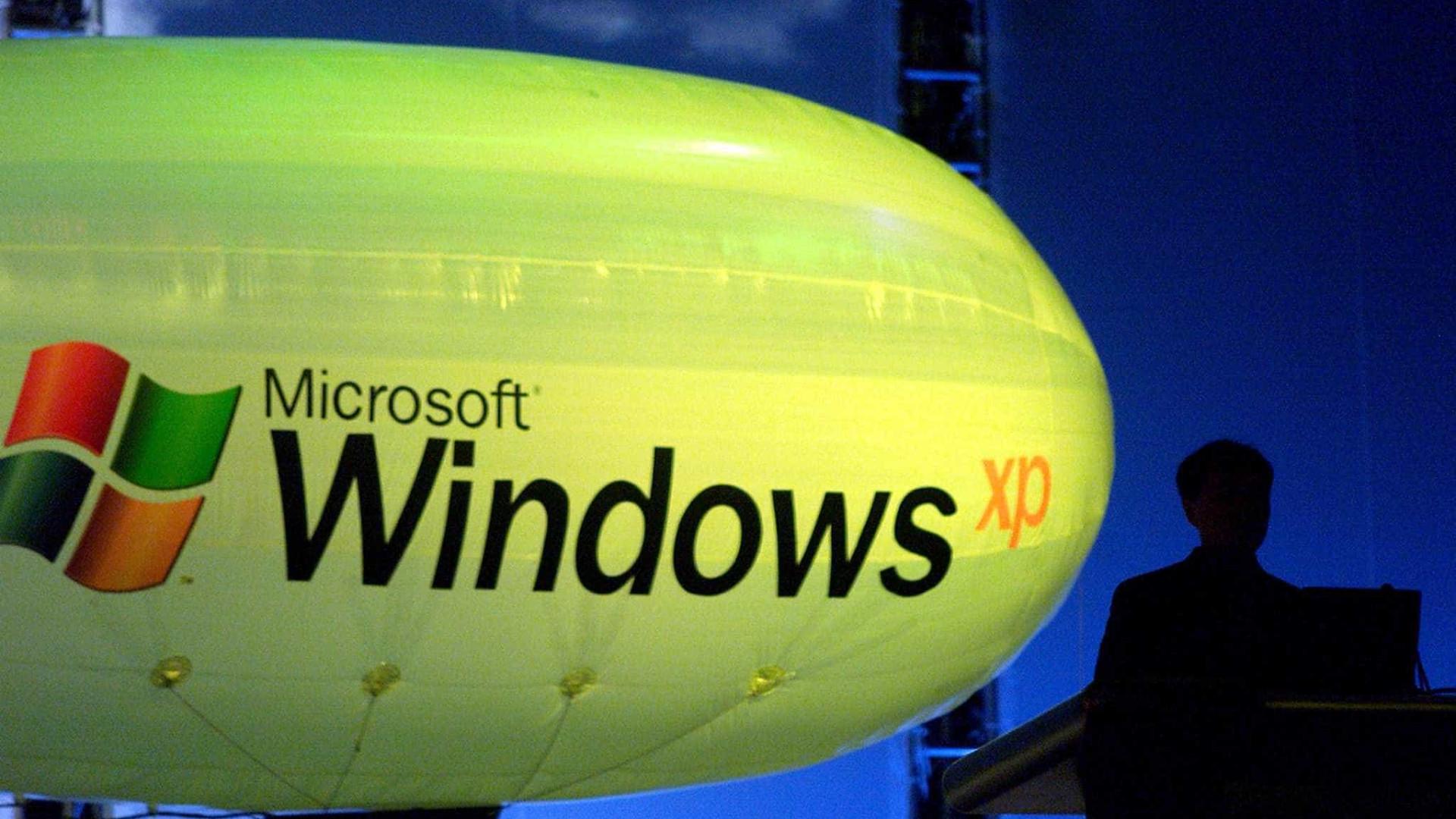 Windows XP foi lançado há 15 anos pela Microsoft