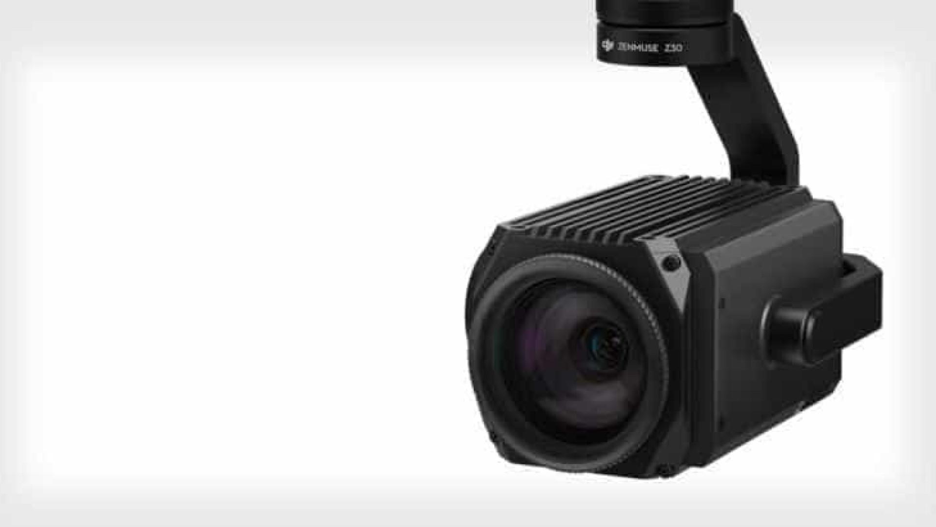 DJI lança câmera-drone com zoom 30x   para fins industriais
