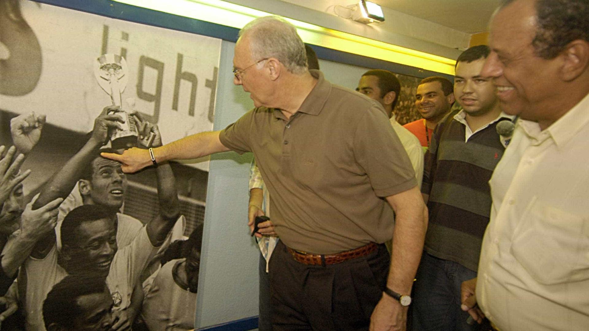 Beckenbauer lamenta morte do Capita:  'Era um irmão para mim'