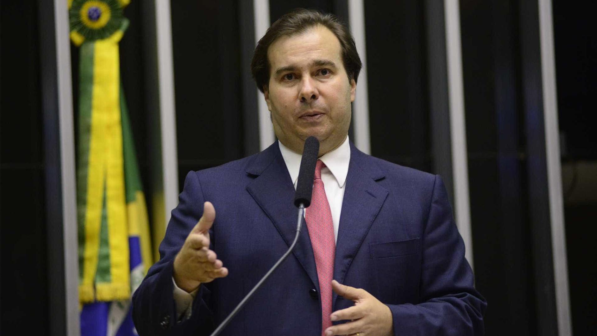 Julgamento de Renan é 'pauta normal'  do STF, diz Rodrigo Maia