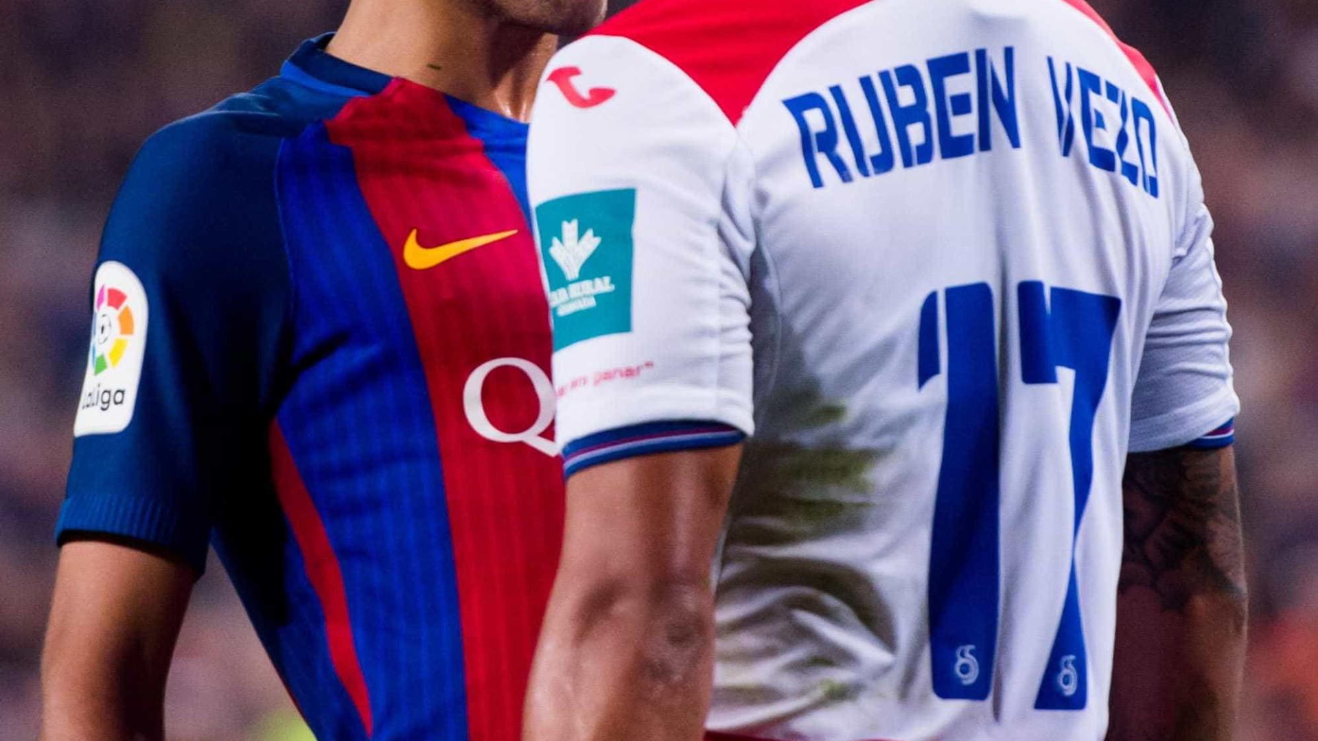 Neymar e jogador do Granada continuaram briga no vestiário