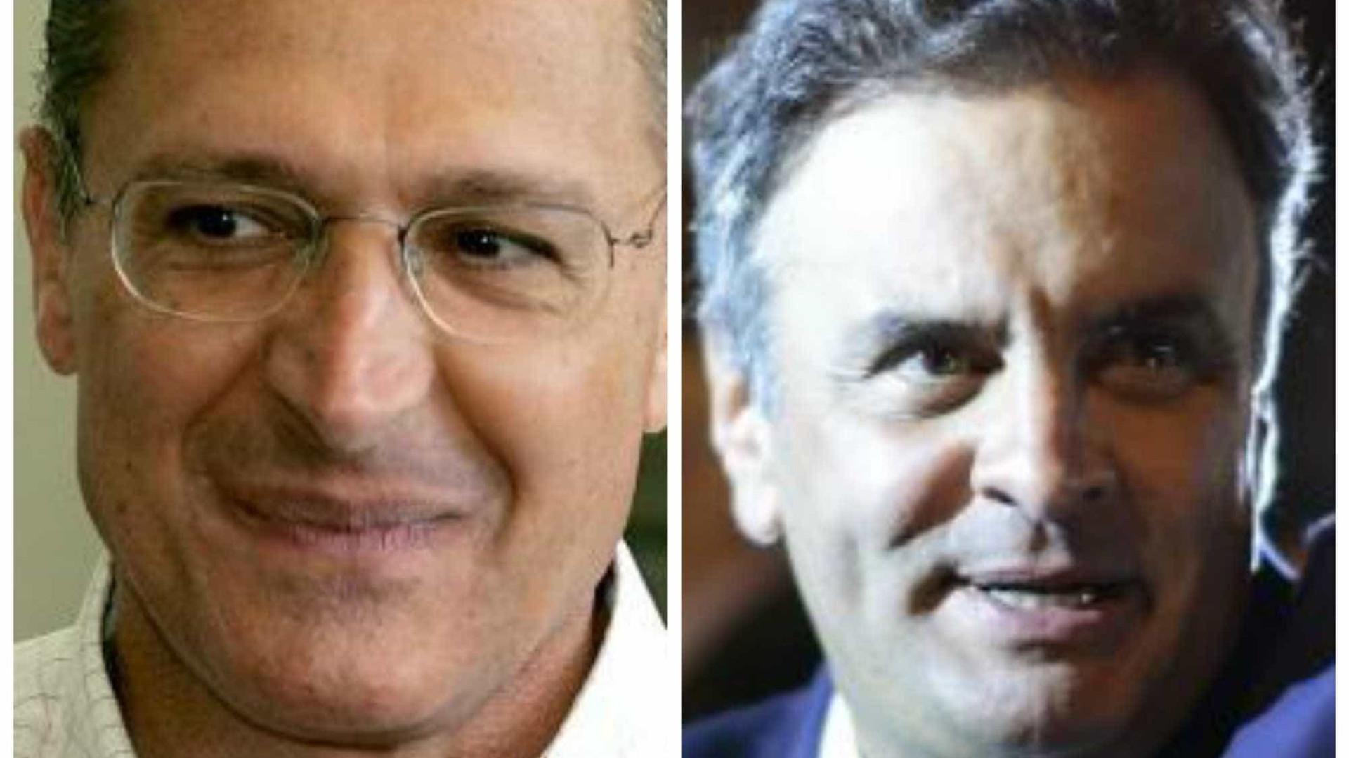 Derrota dentro de casa fragiliza Aécio e consagra Alckmin