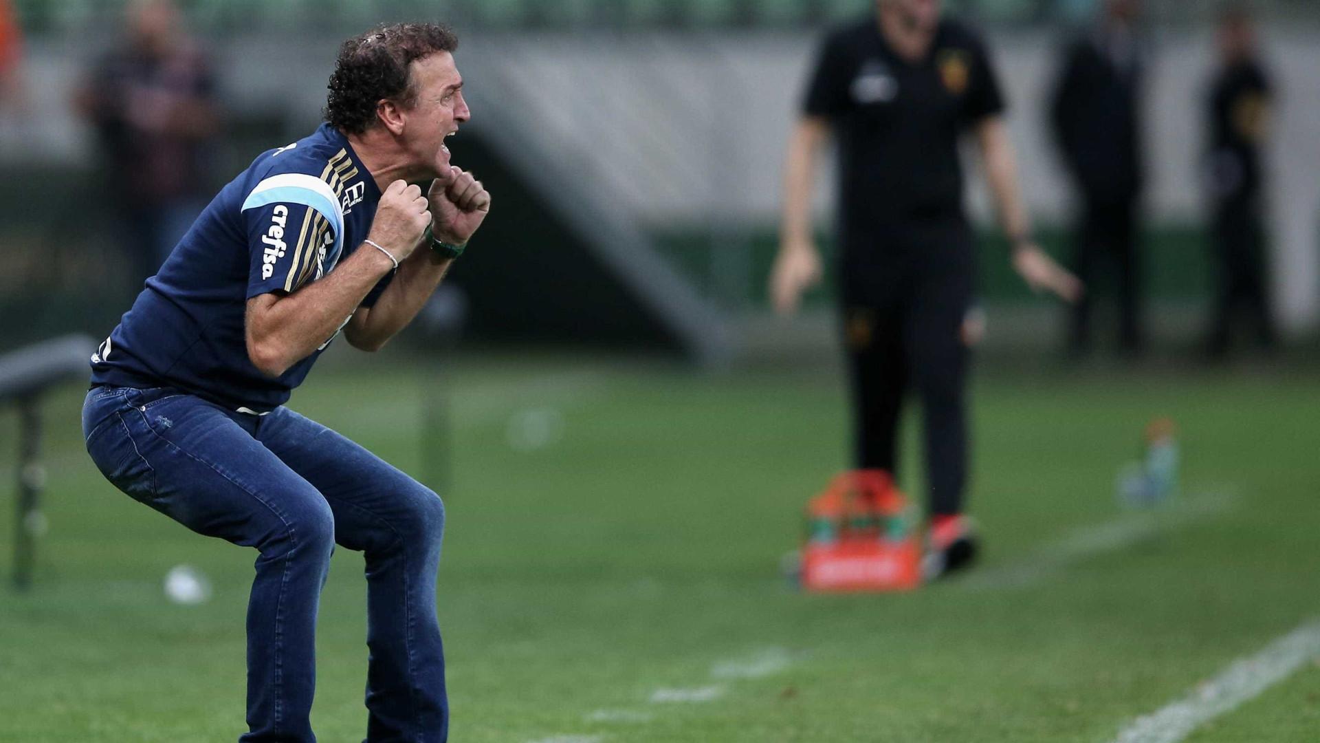 Palmeiras cogita não renovar com Cuca mesmo em caso de título