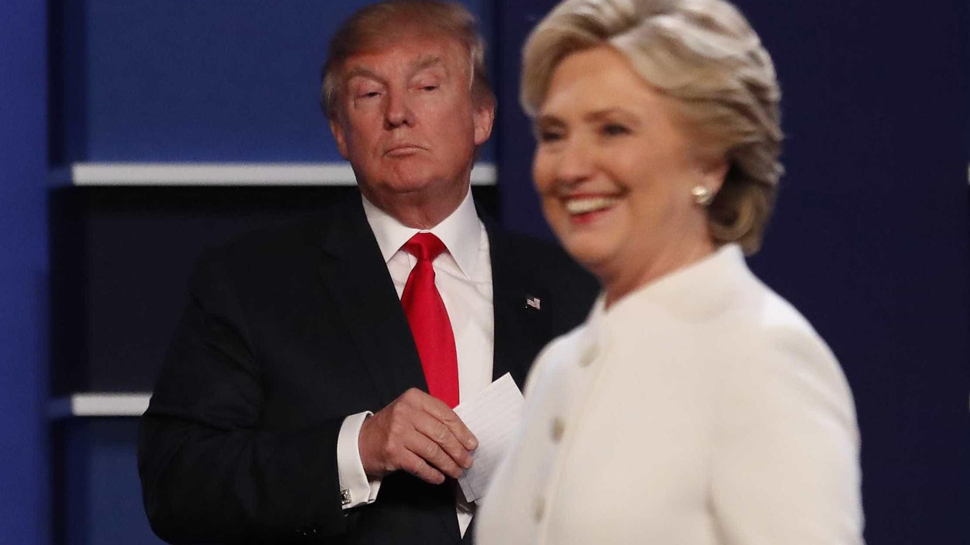 Pesquisa mostra leve vantagem de Trump  em relação a Hillary na Flórida